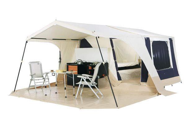caravane pliante trigano alpha. Black Bedroom Furniture Sets. Home Design Ideas